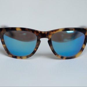 Westward Leaning Pioneer Tortoise Mirror Sunglasse
